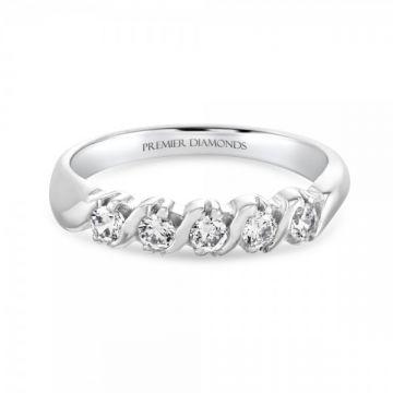 Special offer on Half band eternity diamond ring | Premier Diamonds
